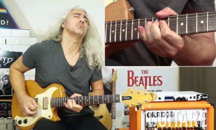 "Guitare Xtreme Magazine # 84 – Blues Rock Guitar Lesson – ""Going Down"" – Fabrice Dutour"