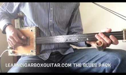 LearnCigarBoxGuitar.com – The Advanced Blues Course sample lesson – Riffin'