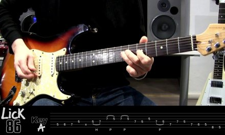 Andy's Lab – Daily Blues Licks #86 – Guitar Lesson