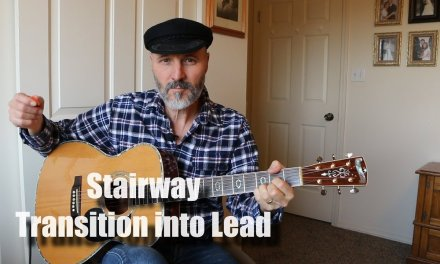 Stairway – Transition – Guitar Lesson