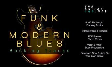 Funk & Modern Blues Backing Tracks – TheGuitarLab.net