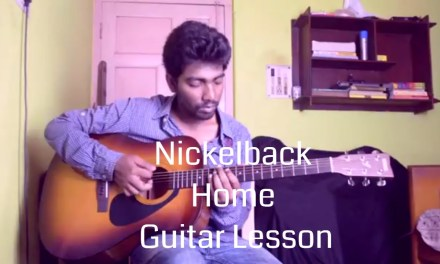 Nickelback – Home Guitar Lesson