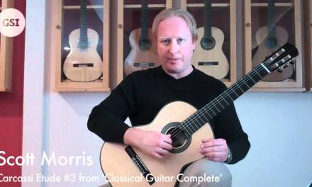 Scott Morris Video Lesson – Carcassi 'Etude No. 3'