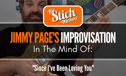 In The Mind of Jimmy Page: Since I've Been Loving You Guitar Solo