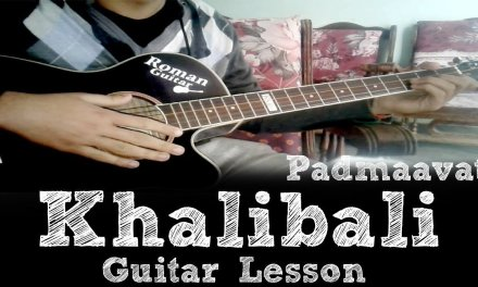 Khalibali Song   Padmaavat   Ranveer Singh   Easy Guitar Lesson   Easy Chords And Strumming