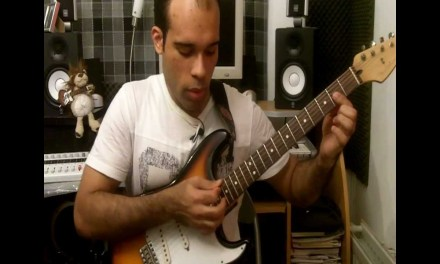 [CGT #17] Soul R&B Electric Guitar Lesson.. Song-Ending Idea in the key of D