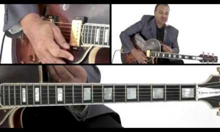 Jazz Guitar Lesson – Phrases Not Scales – Henry Johnson
