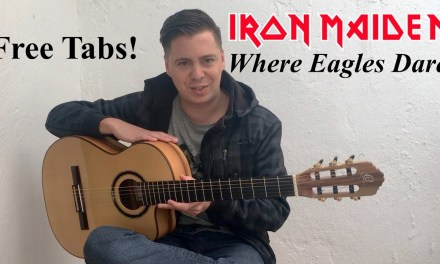 Where Eagles Dare (Iron Maiden) Acoustic – Guitar Lesson & Tabs by Thomas Zwijsen