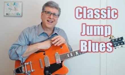 Classic Jump Blues Guitar Solo Lesson (Ain't That Just Like a Woman)
