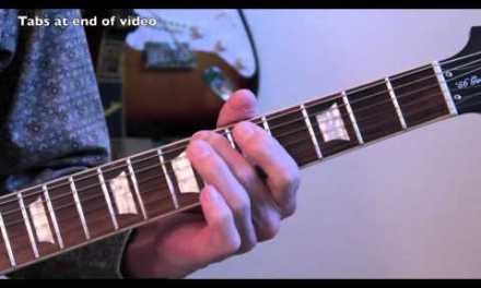 UFO – Rock Bottom – Guitar Lesson