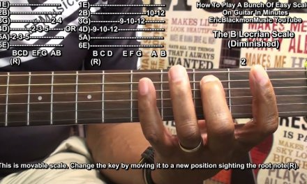 How To Play A Bunch Of Guitar Scales In Minutes Tutorial Lesson EBMTL HD
