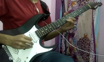 Bom Diggy – Zack Knight – Electric Guitar Cover – Guitar Leads – Lesson – Tutorial | Animesh Mallick
