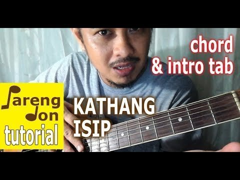 Kathang Isip Chords Guitar tutorial w/ Intro Tab – Ben and Ben music ...