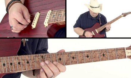 Johnny Hiland Guitar Lesson – Working Man in A Outro Performance – Ten Gallon Guitar