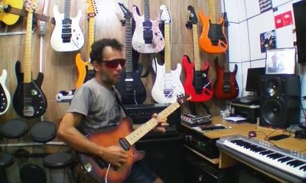 gilneyparson guitarra GP signature com captador SUHR HUM SSV