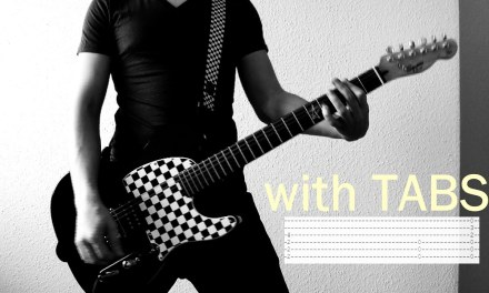 Three Days Grace – I Hate Everything About You Guitar Cover w/Tabs on screen