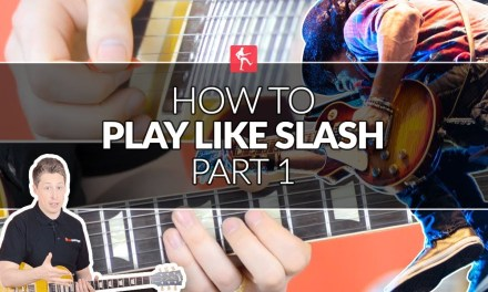 How To Play Like Slash (Part 1) – Lead Guitar Lesson