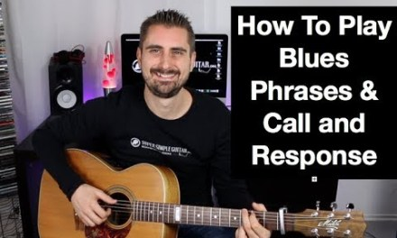 Call And Response Blues Guitar Lesson