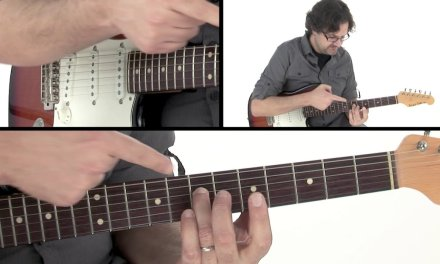 CAGED Guitar Lesson – 4th String Root Shape – David Wallimann