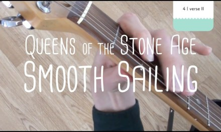 How to play Smooth Sailing Queens of the Stone Age | Guitar Lesson & Songsheet