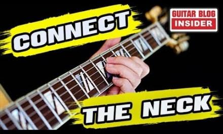 GUITAR LESSON: Connect the Guitar Neck