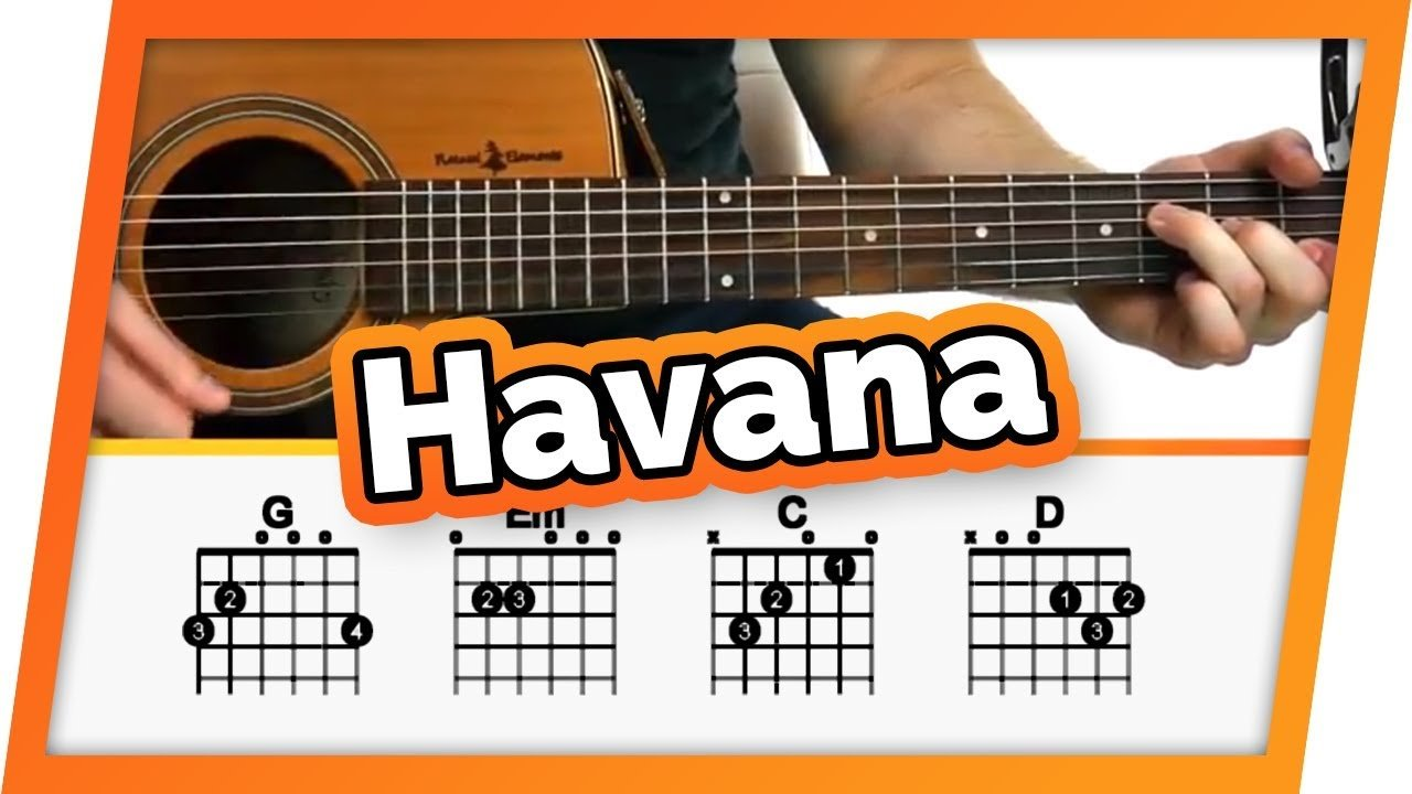 Havana Camila Cabello Guitar Tutorial Lesson For Beginners