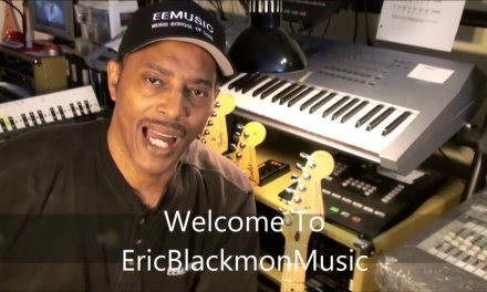The ONE RIFF Slow Blues Guitar Solo Lesson Tutorial EricBlackmonGuitar A Blues HQ