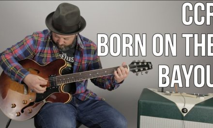 """How to Play """"Born on the Bayou"""" by Creedance Clearwater Revival, CCR"""