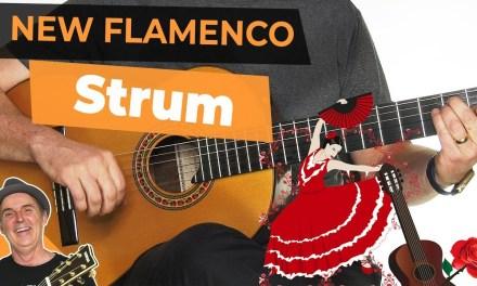 Spanish Flamenco Guitar Lesson | Strumming New Flamenco Style