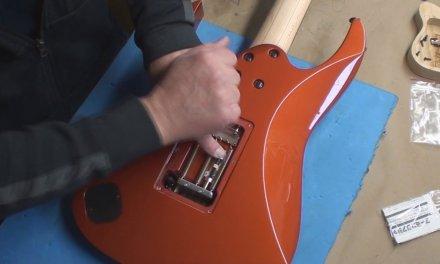 Ibanez Prestige Guitar with ESP Arming Adjuster
