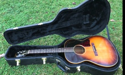1956 Gibson LG1 acoustic guitar demo
