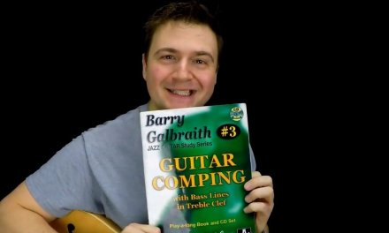 Jazz Guitar Vlog – Galbraith's S-Miles – Comping Book