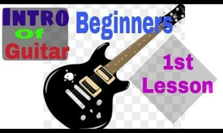 Basic Guitar Lesson 1st for the Beginners (in Hindi)