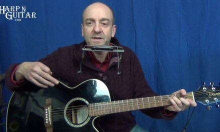 A Whiter Shade Of Pale Harmonica and Guitar lesson