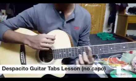 DESPACITO Guitar Tabs Lesson / Tutorial