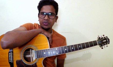 Four chords two songs   Easy Beginner Lesson   Tamil   Isaac Thayil   Ar Rahman   Harris jeyaraj