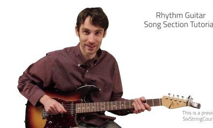 The Blues Scale & Riffs – Lesson 3 of Sean Weaver's Blues Method