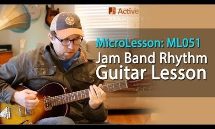 Jam Band Style Rhythm Guitar Lesson – Learn a classic rock rhythm in this guitar lesson