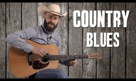 12 Bar Blues with a Country Twang – Guitar Lesson
