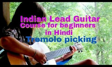 2-Best exercises for Practicing | Tremolo picking | Guitar lesson in Hindi | For beginners |