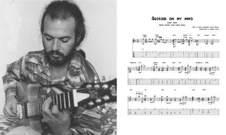 Georgia on my mind – Lenny Breau (Transcription)