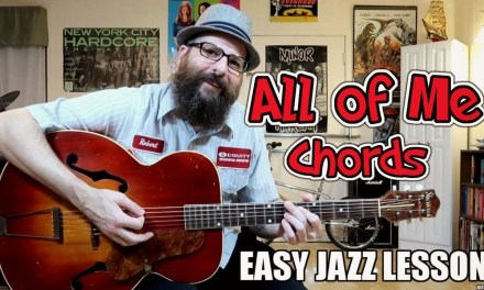 All of Me – Easy Jazz Chord Lesson (Western Swing/Gypsy Jazz)