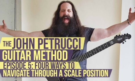 The John Petrucci Guitar Method  –  Episode 5: 4 Different Ways to Navigate a Scale Position