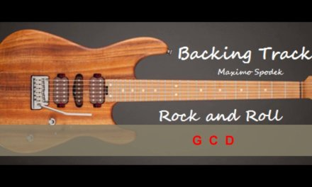 ROCK AND ROLL BLUES GUITAR  BACKING TRACK GUITAR IN G