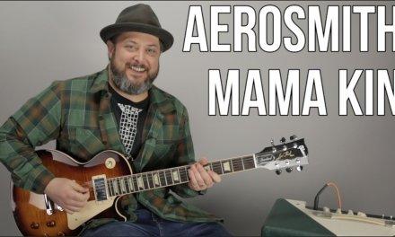 "How to Play ""Mama Kin"" by Aerosmith on Guitar"