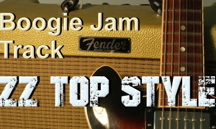 Boogie backing track – zz top style