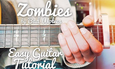 Zombie Bad Wolves Guitar Lesson for Beginners // Zombie Guitar Tutorial // Lesson #434