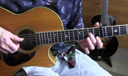 """Fingerpicking Blues Lesson – """"Pay Day"""" in Guy Davis style – free TAB"""
