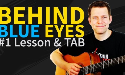 How to play Behind Blue Eyes Guitar Lesson & TAB – Limp Bizkit