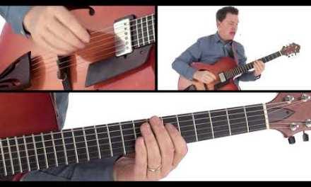 Jazz Guitar Lesson – Fall Foliage Breakdown – Sean McGowan